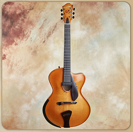 Bill Comins The Tulip Archtop, 2018