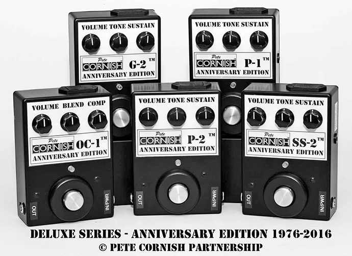 Cornish Anniversary Edition pedals