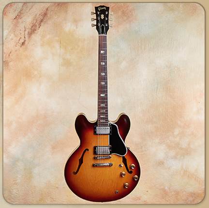 1962 Gibson ES-335 TD with Block Inlays
