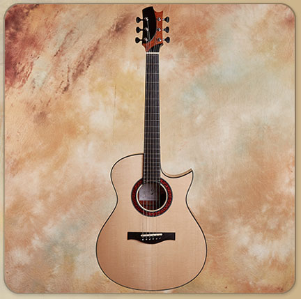 Jason Kostal OMC Figured Mahogany