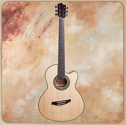 Linda Manzer FanFret Baritone Acoustic
