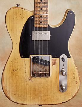 Nacho Guitars Blackguard Keith