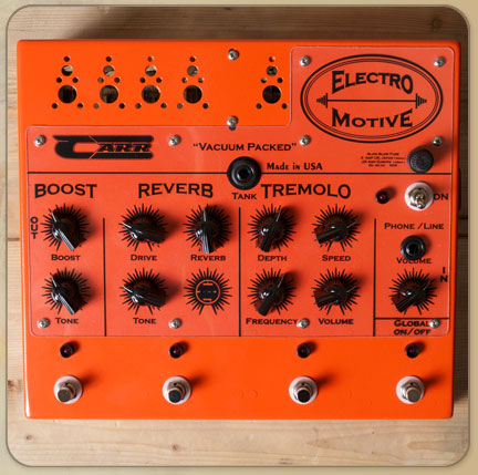Carr Electro-Motive Pedal